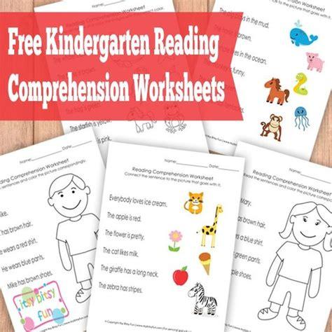 free preschool reading games kindergarten reading comprehension worksheets literacy 465