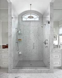 Shower with clerestory window bathrooms pinterest for Windows for bathroom showers