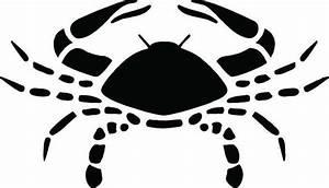 Zodiac Sign Cancer Crab Astrology Horoscope .SVG .EPS .PNG
