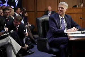 Gorsuch Hearing For Top Court Lacks The High Drama Of ...