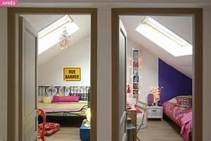 amenagement combles chambre sous les toits maison creative With amenager comble en chambre