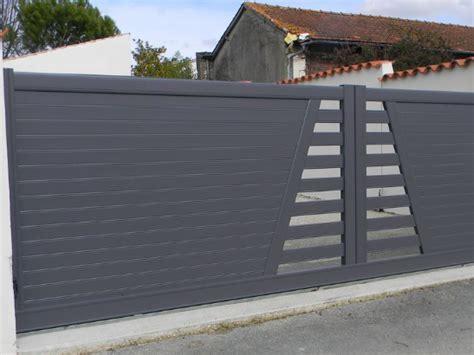 portail en aluminium sur mesure portail ext 233 rieur