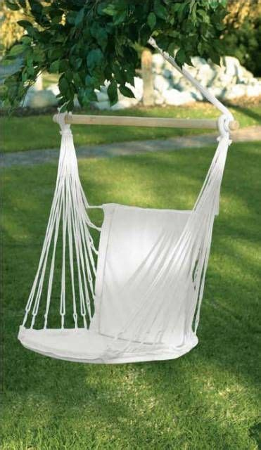 cotton padded hammock swing chair