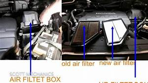 Honda Cr-v 2 2 Diesel Oil Air And Fuel Filter Location
