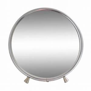 Miroir Barbier Rond : miroir de barbier rond diam tre 14 cm mes petites puces ~ Teatrodelosmanantiales.com Idées de Décoration