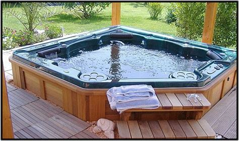 Outdoor Tub by The Most Of Indoor And Outdoor Tubs Macuhoweb