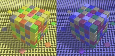 why do we see different colors sci shows survival the cube illusion