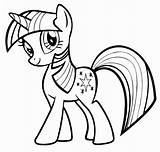 Pony Coloring Pages sketch template
