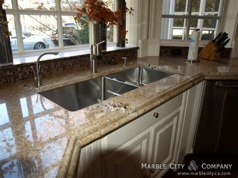 golden sand granite countertops expert installation fabrication color gold