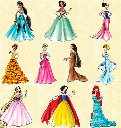 disney princess dressers concept graphic by thedisneyprincess on 2