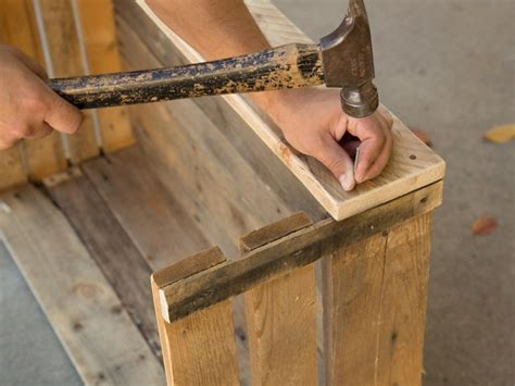 Upcycle Wood Pallets Into a Cozy Outdoor Dog Bed | HGTV