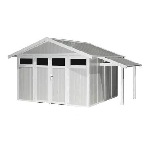 casetta da giardino in pvc piccola tettoia per casetta da giardino grosfillex