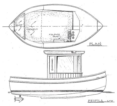 How To Draw A Mini Boat by Mini Tug Boat Plans Free Studio Design Gallery