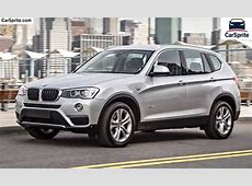BMW X3 2018 prices and specifications in Egypt Car Sprite
