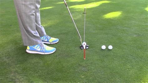 Putting Drills  Use A String To Improve Your Aim And Line On Midrange Putts Youtube