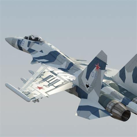 Sukhoi Su-35 3d Models For Download