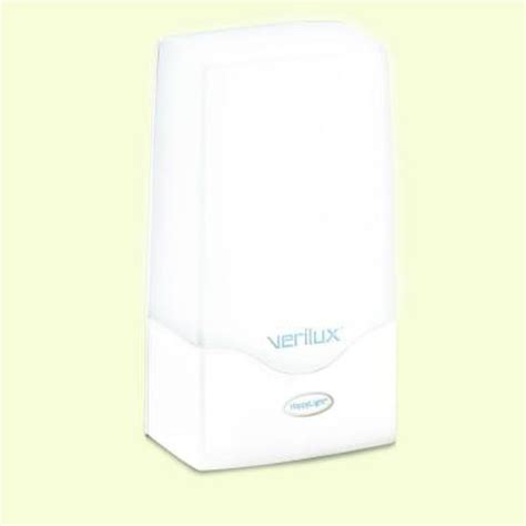 verilux happy light verilux happylight 9 in white 2500 compact energy