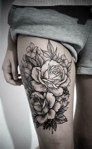 Rosen Tattoos Schwarz : die besten 25 rosen tattoo ideen auf pinterest tattoo sanduhr des lebens tattoo hourglass ~ Frokenaadalensverden.com Haus und Dekorationen