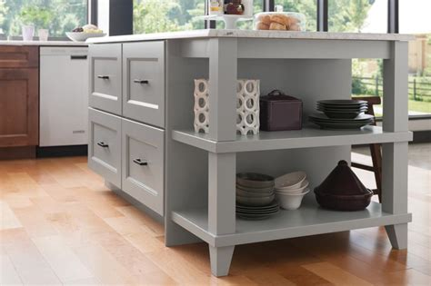 wood kitchen island legs medallion at menards cabinets island with drawers and