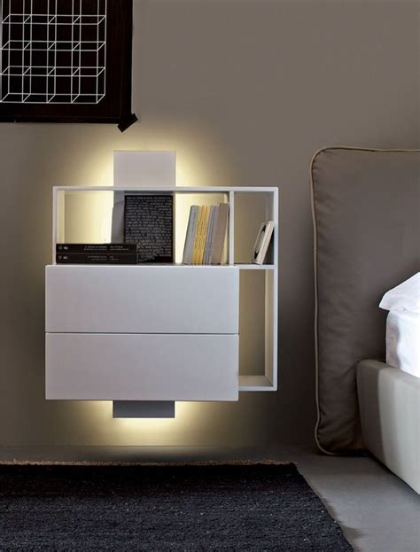 floating nightstand with drawer wall mounted nightstand with drawer woodworking projects