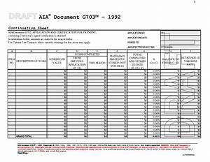 download aia g703 sample rabitahnet With free aia document g703