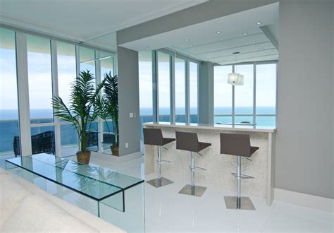 opalina krystal glass modern living room miami