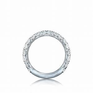 Tacori wedding bands royalt diamond 15ctw for Wedding rings tacori