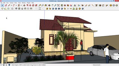 contoh desain rumah sketchup mso excel