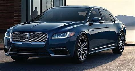 lincoln continental 2017 lincoln continental new photos of production model