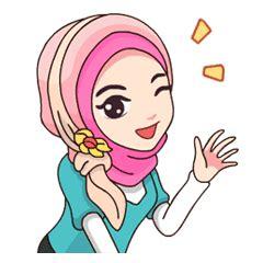 hijab kekinian  stickers  store