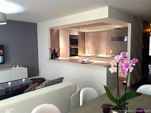 Appartement Contemporain : construction d 39 un appartement design carole sipala c t maison ~ Melissatoandfro.com Idées de Décoration