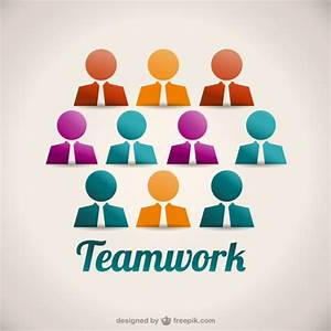 Teamwork avatars Vector | Free Download