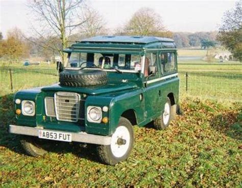 land rover safari roof land rover series 3 with safari roof new price sold 1984