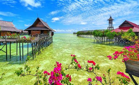 tropical resort  malaysia hd wallpaper background