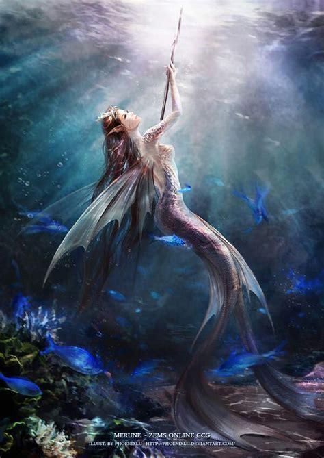 mermaid sirens mermaids wings siren fantasy mythical creatures creature underwater evil pretty sea woman goddess sereias painting ocean warrior most