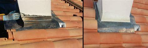 refection dune etancheite de cheminee en plomb renovea