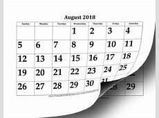 Printable 20182019 Large Academic Calendar