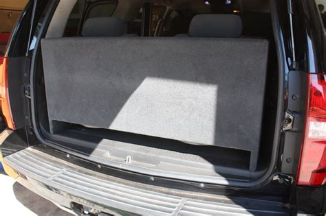 chevy tahoe  box downfire chevy tahoe subwoofer box