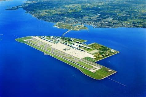 Kansai Airport Sinking 2014 by Daily Departure Kansai International Airport Osaka Japan