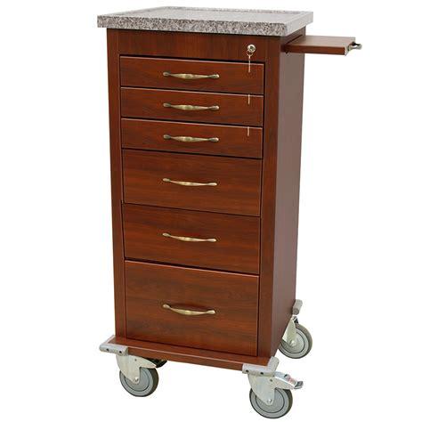 kitchen cabinets supplies wv3256k mini line wood vinyl aluminum anesthesia cart 3256
