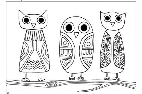 joel owls coloring sheet