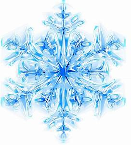 Nice blue snowflake isolated on the white background ...