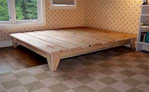 Homemade Platform Bed With Storage Best Wooden Platform