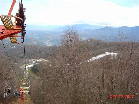 chair lift ober gatlinburg mount leconte from top of ober gatlinburg picture of