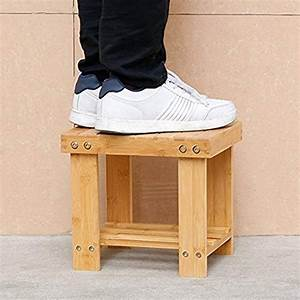 Bamboo, Step, Stool, For, Kids, And, Adults