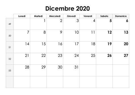 calendario dicembre calendariosu