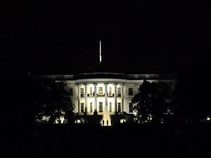 the White House at Night – Adrian's Adventures