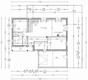 plan maison avec cotes With plan maison avec cotation