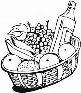 Wine Coloring Pages Fruit Fruits Getdrawings Netart Popular sketch template