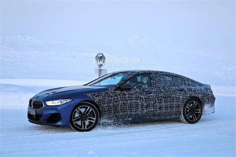 Bmw Coupe 2020 by 2020 Bmw 8 Series Gran Coupe Spied Undergoing Winter